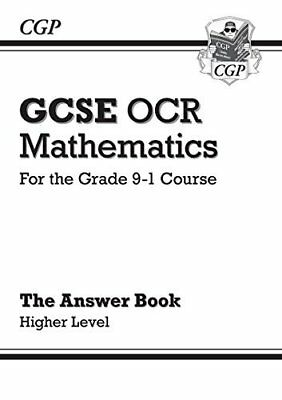 New GCSE Maths OCR Answers for Workbook: Higher - for the Grade 9-1 Course by CG