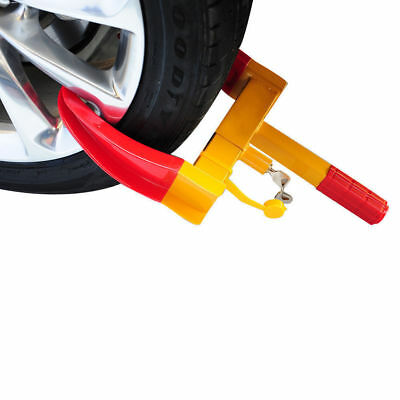 Wheel Clamp Heavy Duty Anti Theft Lock Caravan Trailer Security With Keys Chn