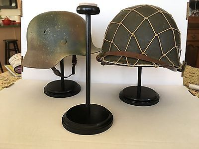 Helmet Stand - Made In The Usa - By A Us Army Veteran