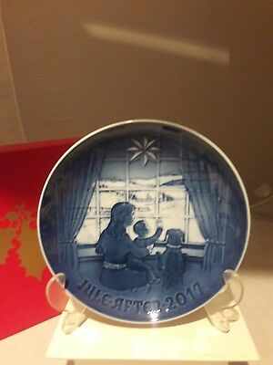 Bing & Grondahl, 2017 Annual Christmas Plate, New, Mint And Boxed, Free Usps
