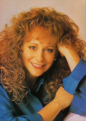 Reba McEntire 2 Page Magazine Article Clipping 2 Pictures Country Music