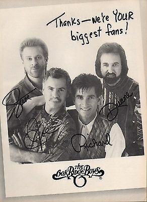 The Oak Ridge Boys 1 Page Magazine Picture Clipping Country Music