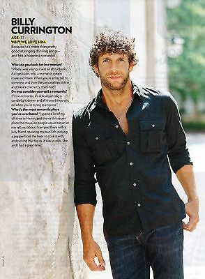 Billy Currington 1 Page 2011 Magazine Picture Clipping