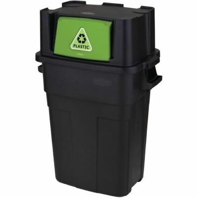 NEW RUBBERMAID 36Gallon Kitchen Trash Can Recycling Waste Stackable