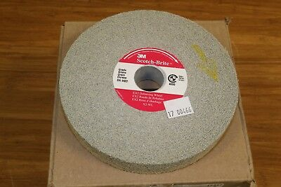 "3M Scotch-Brite 6"" x 1"" x 1"" EX2 Unitized Deburring Blending Wheel 8A Medium"