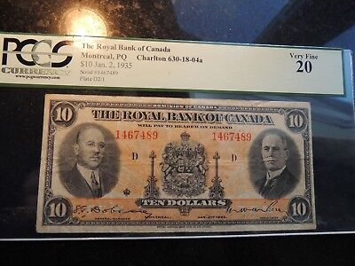 1917 DOMINION OF CANADA $ 1 ONE DOLLAR HYNDMAN SAUNDERS DC-23d G-257796A SEAL