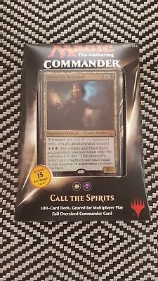 Magic The Gathering MTG Commander Deck 2015 - Call the Spirits (new and sealed)