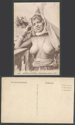 Young Arab Woman Lady Girl, Jeune Femme Arabe Scenes & Types Africa Old Postcard