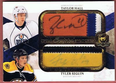 2010-11 The Cup Hall Seguin Rookie Dual Scripted Swatches Auto 15/15 Rc Ud 10-11