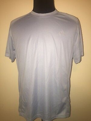 adidas Men's CLIMALITE Short Sleeve Tee Athletic Fit Solid T-Shirt Size Large L