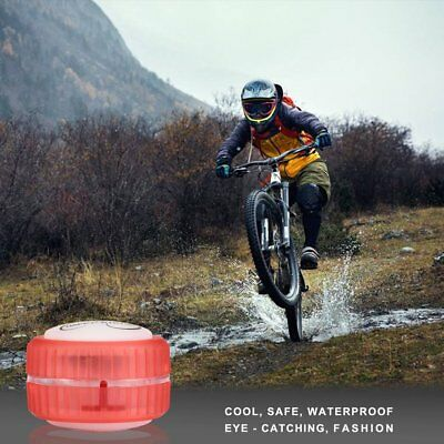 4 LED Waterproof Bicycle Cycling Wheel Tyres Lamp Riding Warning Lights FS