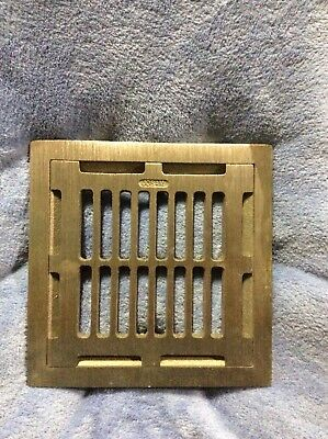 Josam 49300 Full Grate Nickle Bronze Traffic Top, -NB  Just took out the wrapper