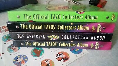 The Offical TAZOS Collectors Album LOT - Collection, album, Star Wars, Space Jam