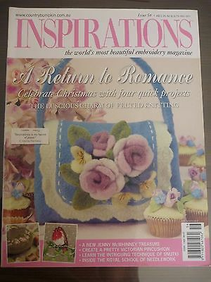 Inspirations Embroidery Magazine - Issue 56 Country Bumpkin Publication