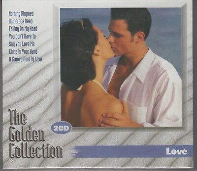"""LOVE """"The Golden Collection"""" Various Artists 2CD Set NEW & Sealed 1st Class Post"""