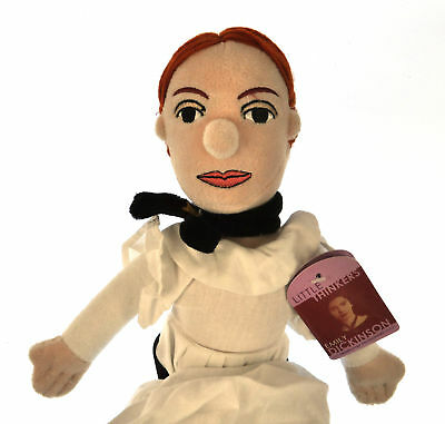 Emily Dickinson Soft Toy - Little Thinkers Doll