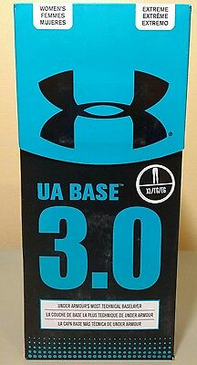 Under Armour UA Base 3.0 Womens Leggings XL Fitted Athletic Baselayer