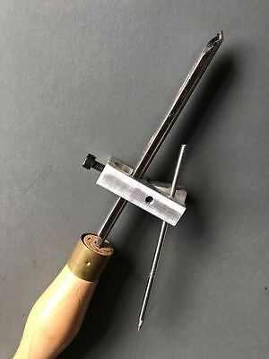 Fingernail Profile Sharpening Jig Tool For Woodturning