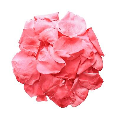 Dried flower wedding confetti / Biodegradable and natural petals- Flamingo mix