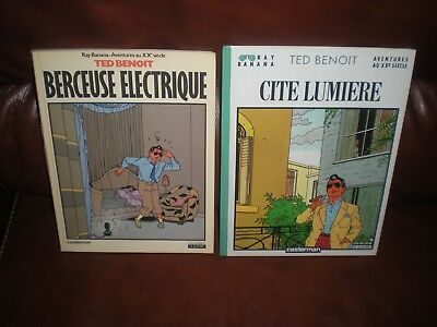 Ray Banana - Ted Benoit - Lot Des 2 Premiers Tomes