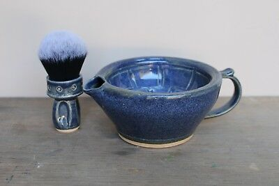 Wet Shaving Scuttle / Bowl- Giles Shaving Co 4 colour options! Handmade in UK