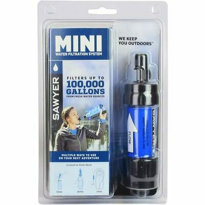 4 x SAWYER SP128 BLUE MINI WATER FILTER (FOC Extra Squeeze Pouch)