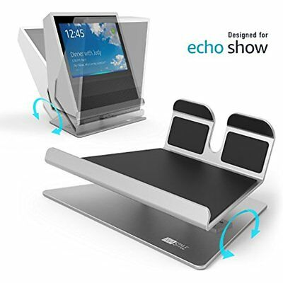 AhaStyle Stands Premium Aluminium Adjustable For Echo Show (Silver)