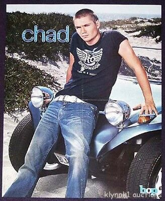 Chad Michael Murray 2 POSTERS Centerfold Collectible Lot 375A Good Charlotte