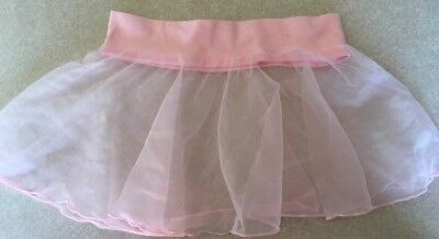 PINK CHIFFON Toddler Dance Skirt Ballet  Body Movements USA Spandex