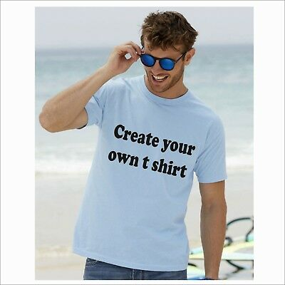 Plain or Printed Personalised T Shirt stag hen party Birthday Party Charity