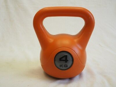 4kg Crane Kettle Bell Weight Plastic Outer