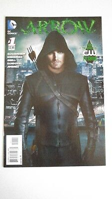 Arrow (2012) Issue #1 ~Stephen Amell Photo Cover~Cw Tv Show~Vf/nm