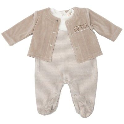 Beautiful Spanish Baby Boy / Baby Girl Velour 3 Piece Outfit / Set.