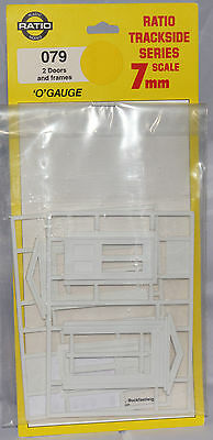 Ratio Doors and Frames Detail Parts, O Scale