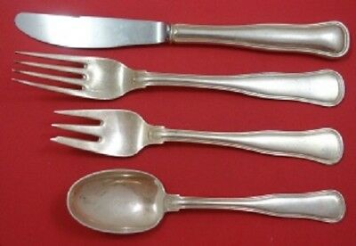 Old Danish By Cohr Sterling Silver Dinner Size Place Setting(s) 4pc