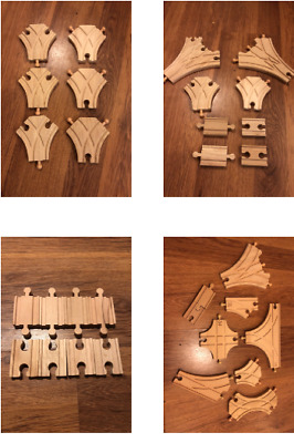 New Brio & Compatible Wooden Train Track - Large Sets / Bundles - Combined Post