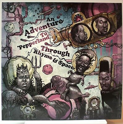 Tom Caruana - An Adventure To Pepperland Through Rhyme & Space 2LP Coloured Viny