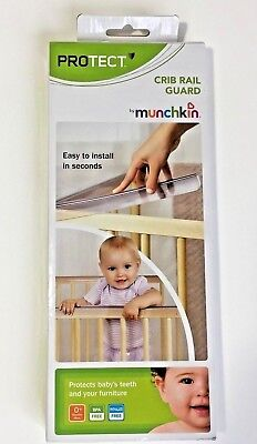 MUNCHKIN Adjustable Crib Rail Protector Baby's Teeth and you Furniture