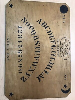 Antique William fuld ouija board Circa 1911 Rare