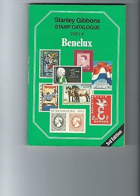Stanley Gibbons Catalogue Part 4 Benelux 3rd Edition includes ex Colonies