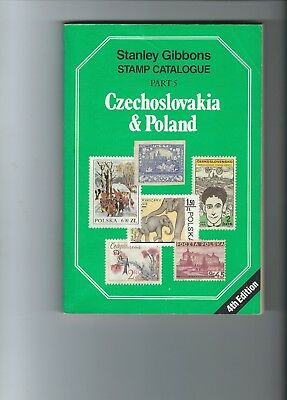 Stanley Gibbons Catalogue Part 5 Czechoslovakia & Poland 4th Edition