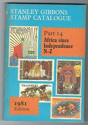 Stanley Gibbons Catalogue Part 14 Africa since Independence N to Z 1981 edition