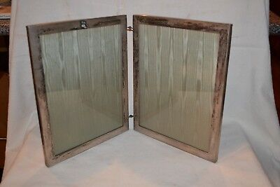 Vtg Sterling Double Picture Frame Graff Washbourne Dunn New York Athletic Club