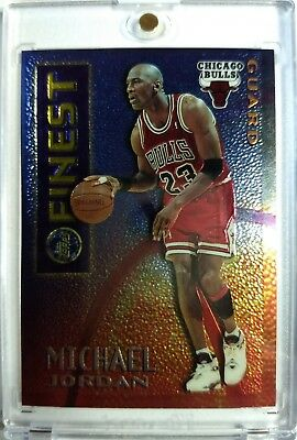1995-96 Topps Mystery Finest Borderless Michael Jordan #M1, Chicago Bulls Rare !
