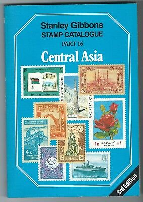 Stanley Gibbons Catalogue Part 16 Central Asia 3rd edition