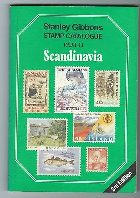 Stanley Gibbons Catalogue Part 11 Scandanavia 3rd edition