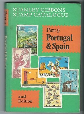 Stanley Gibbons Catalogue Part 9 Portugal & Spain 2nd edition incl Colonies