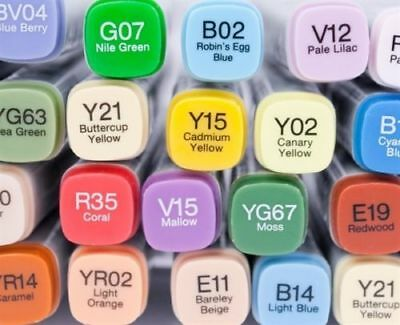Copic Markers - Original Classic Copic Markers (Your Choice of Any 36 Markers)