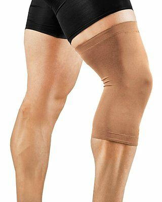 New Tommie Copper Men's Recovery Refresh Knee Sleeve XXL/Nude