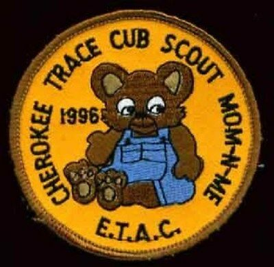 BSA East Texas Area Council Cherokee Trace Mom-Me  bear